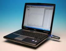 Laptop med Microlite