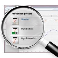 laserafstandsmåler opsætning via pc