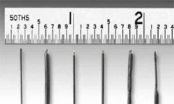 Størrelse af fiberoptisk temperatursensor