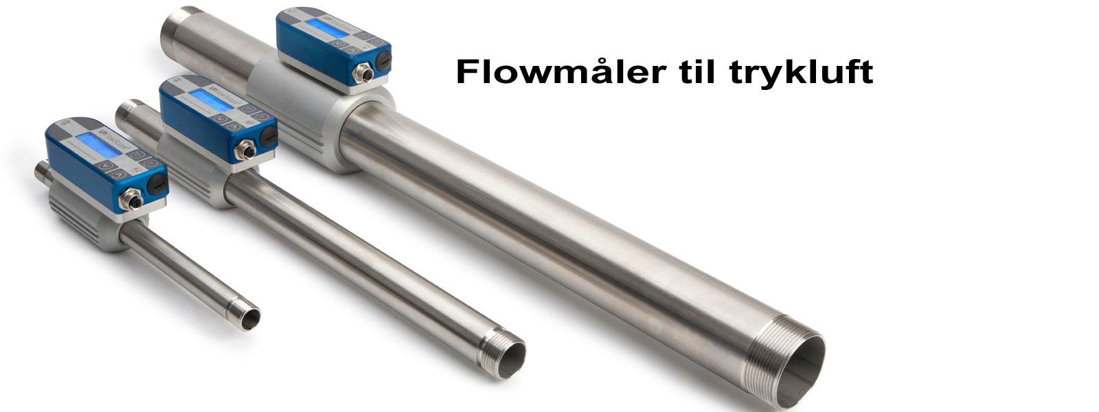 Inline flowmåler