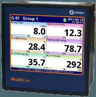 Multicon CMC datalogger og controller