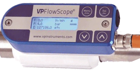 VP FlowScope flowmåler