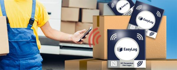 NFC Datalogger dataoverførsel