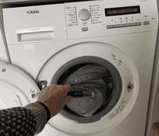 vaskemaskine med datalogger